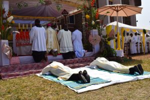 Fundong, Cameroon: Ordination of John Paul Bangsi and Elvis Mbangsi