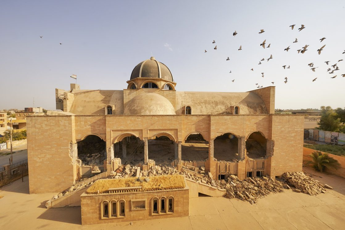 Iraq: ISIS have damaged and demolished every church.