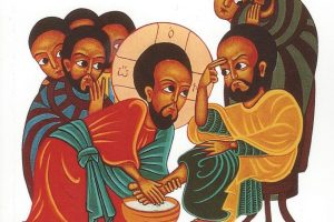 Holy Thursday Washing of Feet: Syriac Hymn, Kerala, India