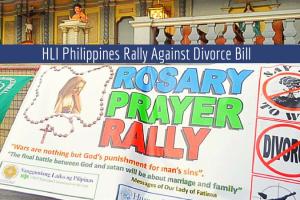 Filipino Catholic Families Say No To Divorce