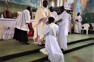 Djottin, Cameroon: Ordination of Thomas Ngong Nteban mhm