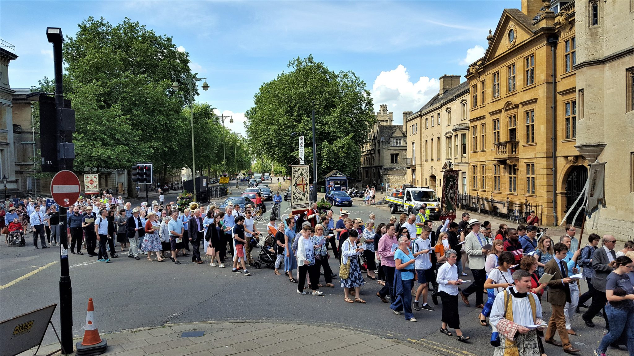 Oxford Celebrates Corpus Christi: Food for the Journey