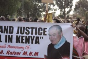Kenya: A Martyr for Justice – Remembering John Kaiser mhm