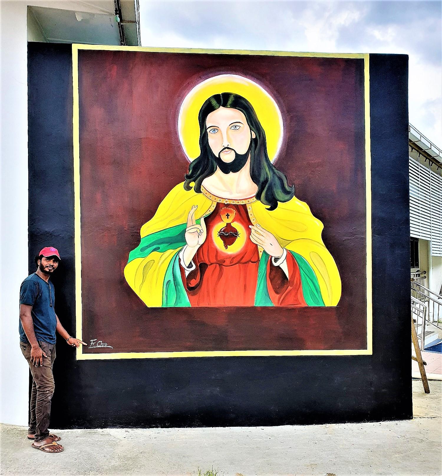 Limbang, Malaysia: Say it with Art