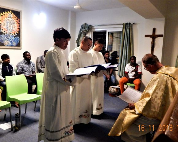Mill Hill Formation Pune, India: Perpetual Oath Celebration