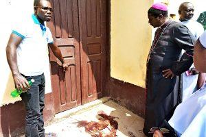 Killing of Cosmas Ondari mhm: Bishop Andrew Nkea Visits the Scene