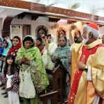 Hyderabad, Pakistan: Cardinal Joseph Coutts Comes to Visit