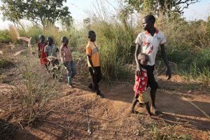 Northern Uganda: Children with the 'Thousand Yard Stare'