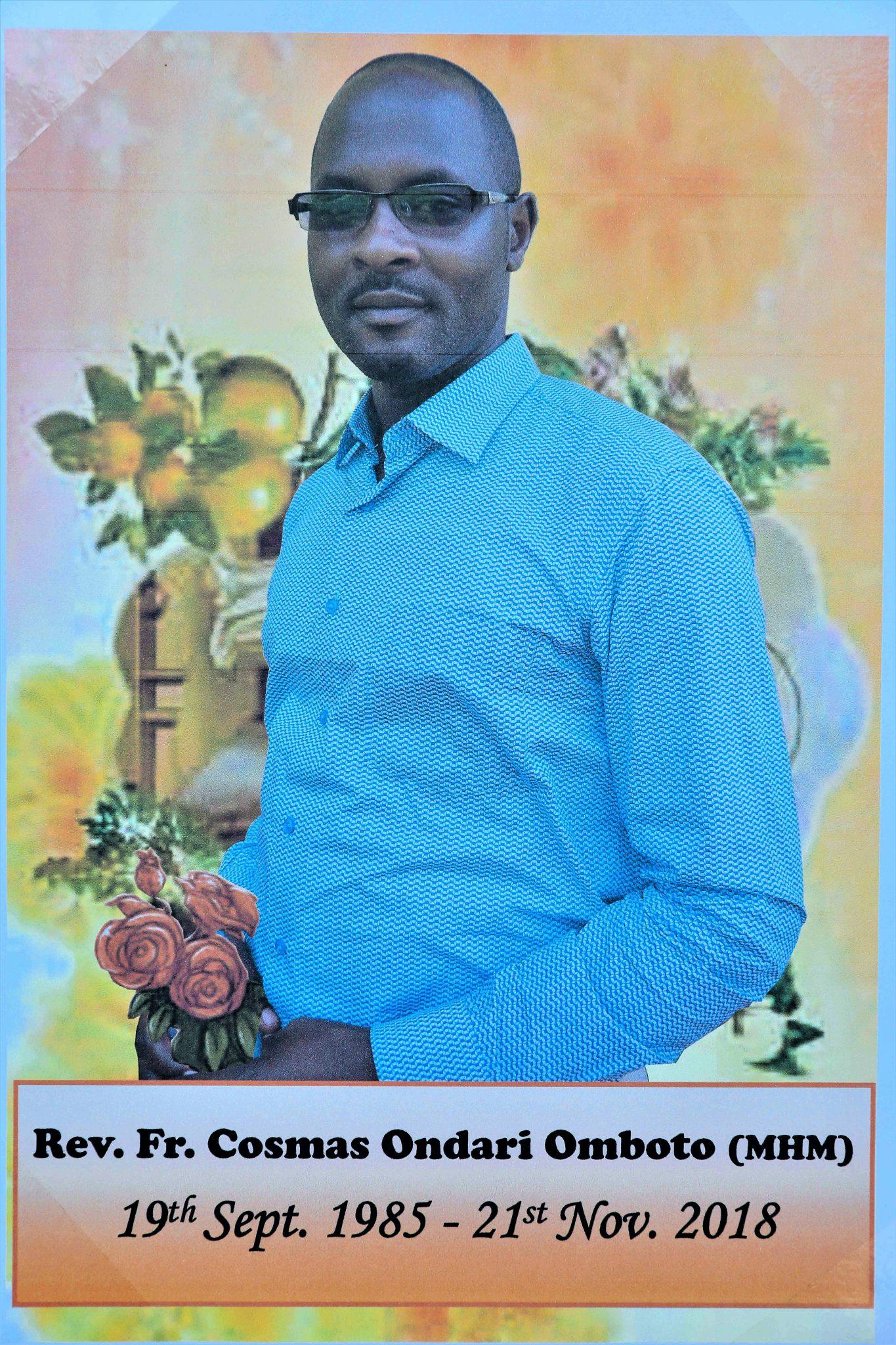 Cosmas Omboto Ondari MHM: A Tribute