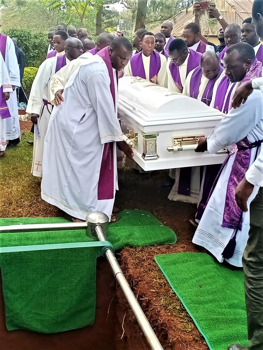 Slain Mill Hill Missionary Fr Cosmas Omboto Ondari Buried in his Native Kisii